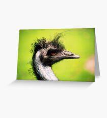 ostrich Greeting Card