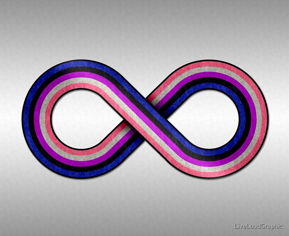 Gender Fluid Infinity by LiveLoudGraphic