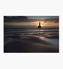 sunrise, rattray lighthouse Photographic Print
