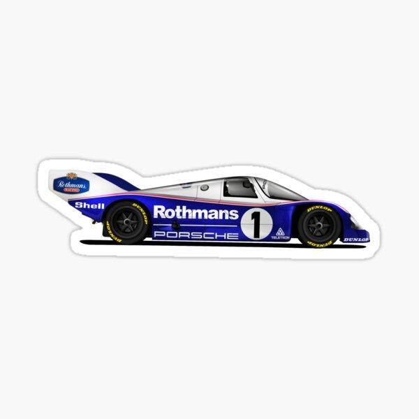 Porsche 80s Le Mans winning car Sticker
