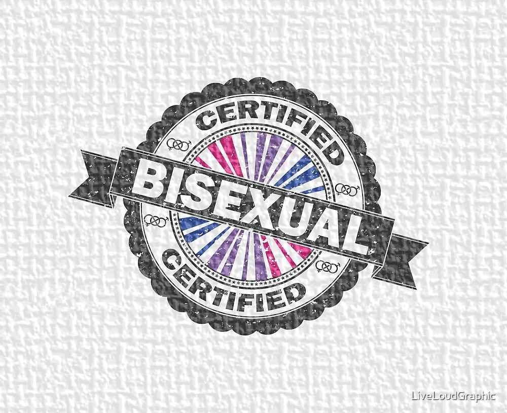 Certified Bisexual Stamp by LiveLoudGraphic