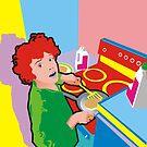 pancakes for breakfast by Matt Mawson