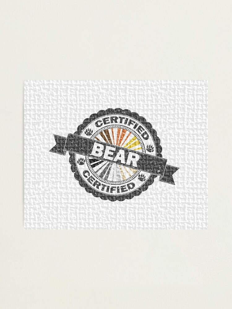 Alternate view of Certified Bear Stamp Photographic Print
