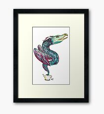 Out of the teapot Framed Print