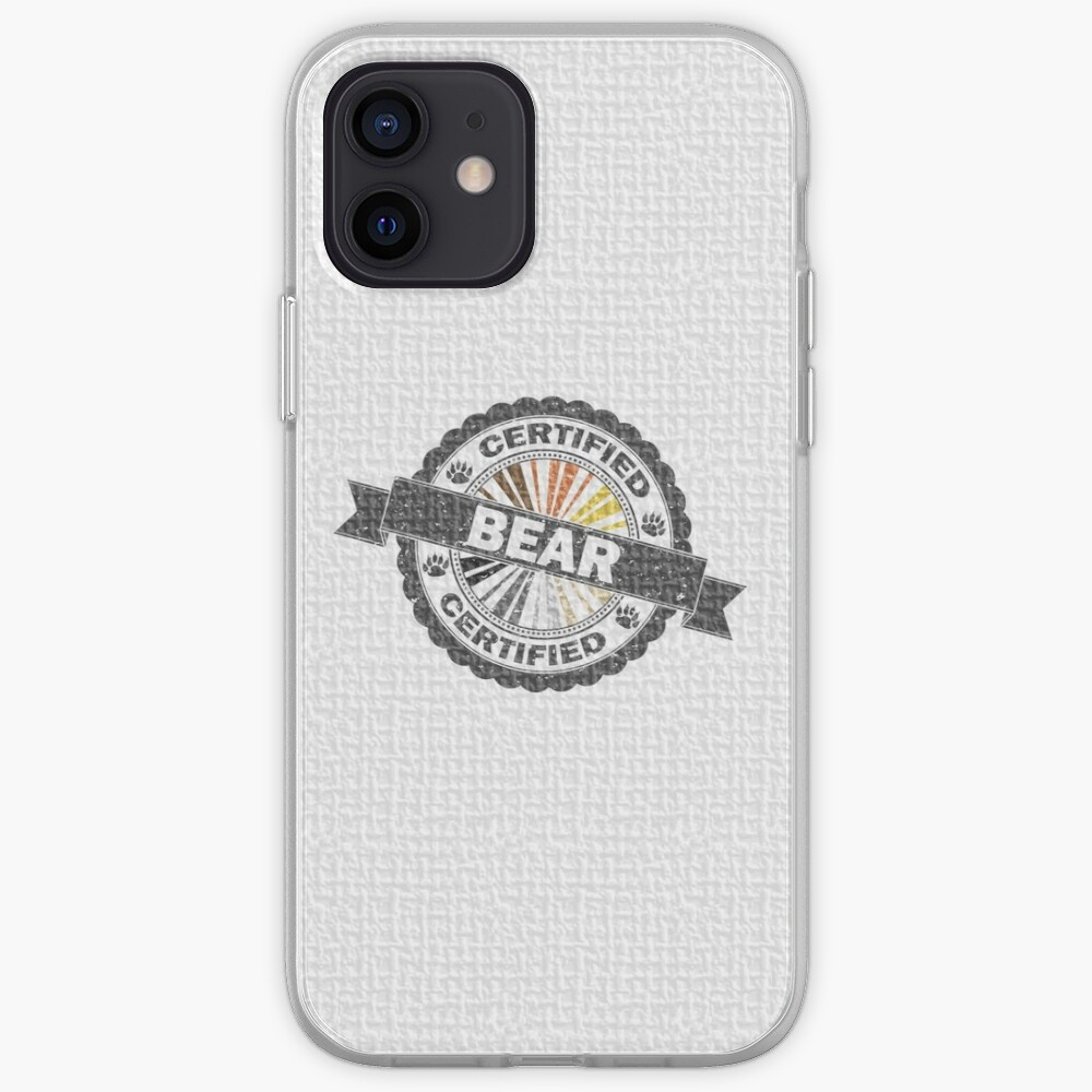 Certified Bear Stamp iPhone Case & Cover