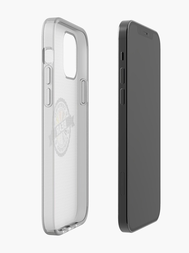 Alternate view of Certified Bear Stamp iPhone Case & Cover