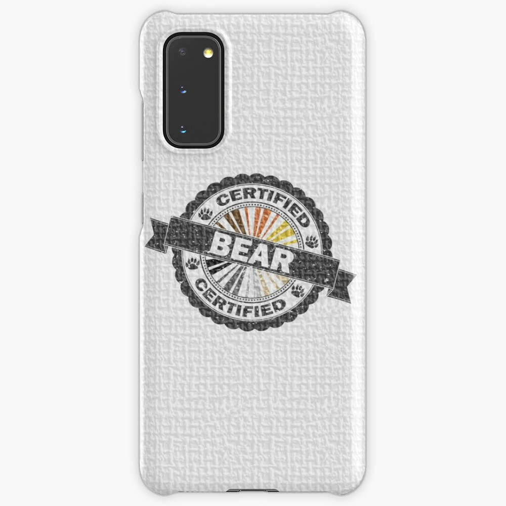 Certified Bear Stamp Case & Skin for Samsung Galaxy