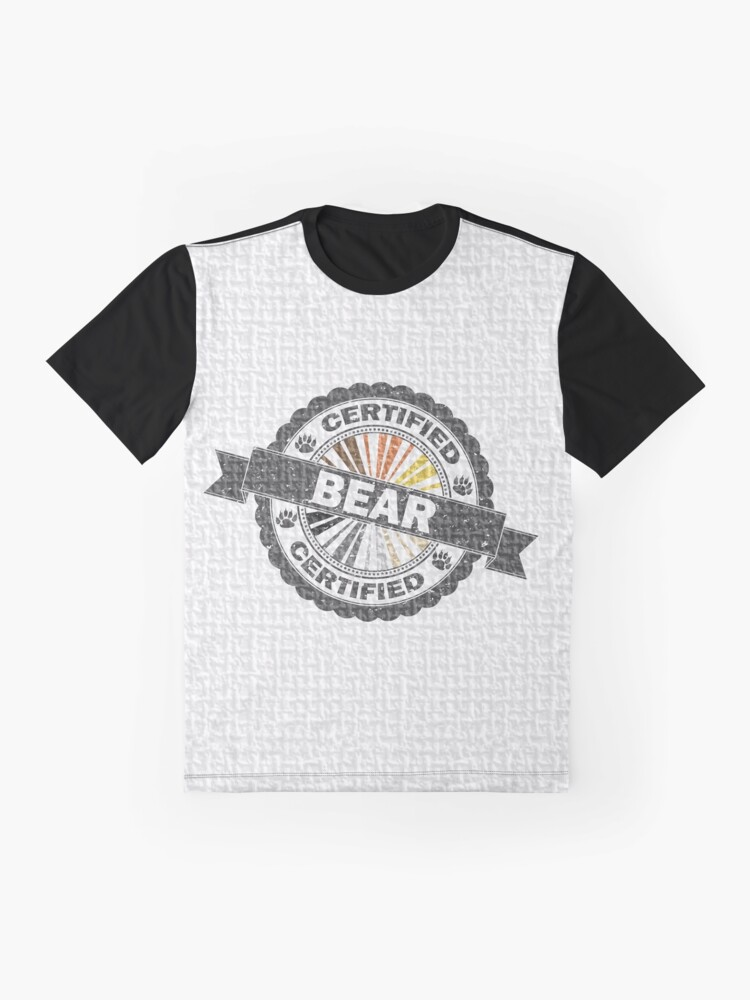 Alternate view of Certified Bear Stamp Graphic T-Shirt