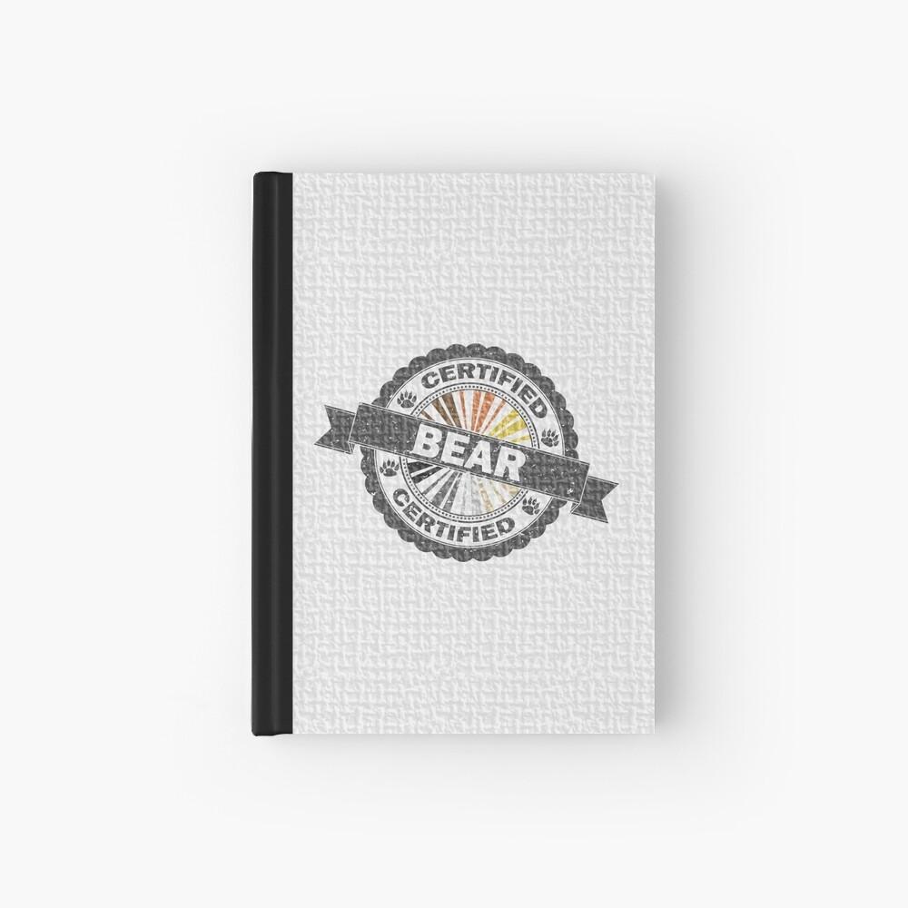 Certified Bear Stamp Hardcover Journal