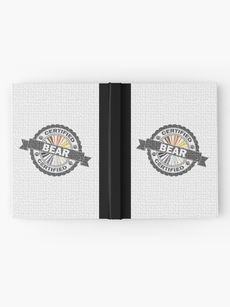 Alternate view of Certified Bear Stamp Hardcover Journal
