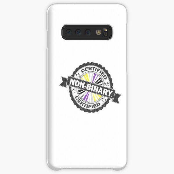 Certified Non-Binary Stamp Samsung Galaxy Snap Case