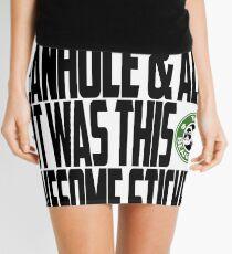 Down The Beanhole Mini Skirt