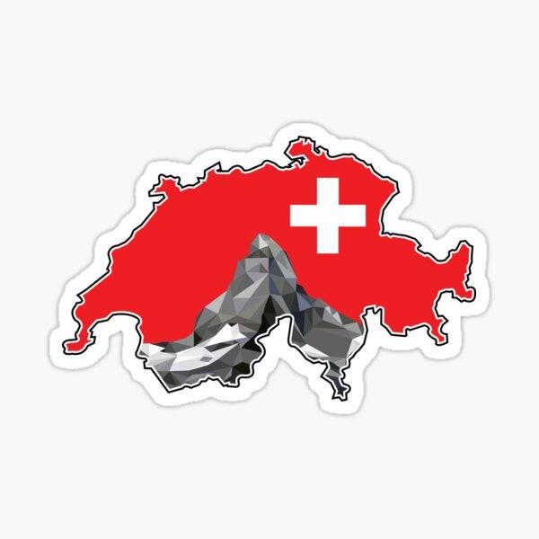 Matterhorn in der Schweiz Sticker