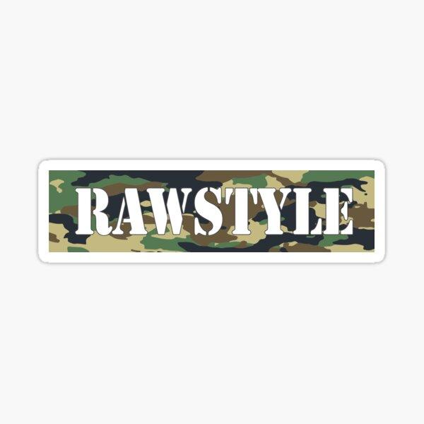 Rawstyle Camo Sticker
