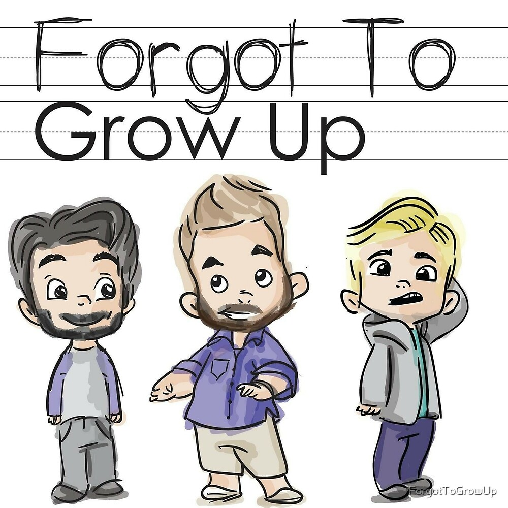 Forgot to Grow Up Podcast Logo by ForgotToGrowUp