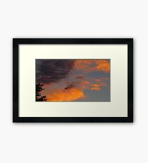 Harmony in the Sky Framed Print