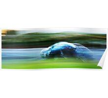 Motion Blur Poster