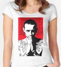 Chester Bennington Tribute Women's Fitted Scoop T-Shirt