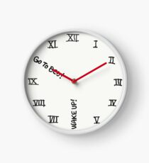 Wake Up and Go To Bed Clock