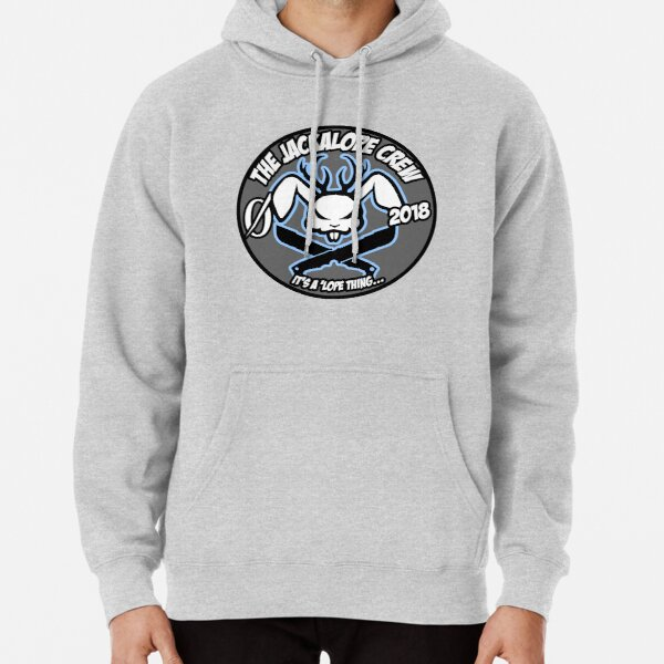 "For the Jackalope Crew... ""It's 'Lope Thing""  Pullover Hoodie"