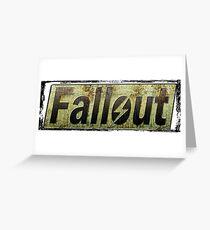 Fallout T-Shirt Greeting Card