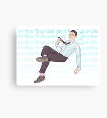 I'm the Android sent by Cyberlife Canvas Print