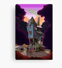 The Weasley's Burrow Canvas Print