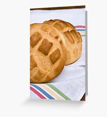 Loaves of bread Greeting Card