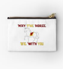 May the Horse Be With You Studio Pouch