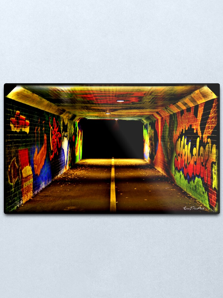 Alternate view of Tunnelblick Metal Print