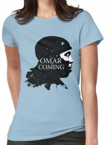 omar comin yo! Womens Fitted T-Shirt