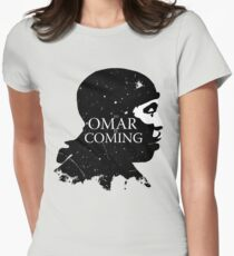 omar comin yo! Women's Fitted T-Shirt