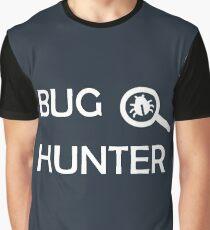 Bug Hunter Cyber Security Hacking Fun T-shirt Graphic T-Shirt