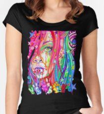 bipolar Women's Fitted Scoop T-Shirt