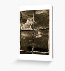 Distressed Beauty Greeting Card