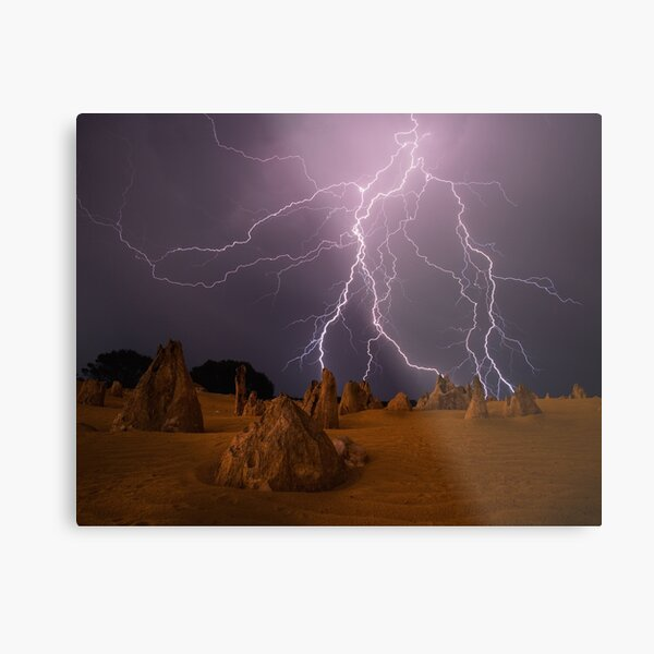 """""""Let there be light"""" Metal Print"""