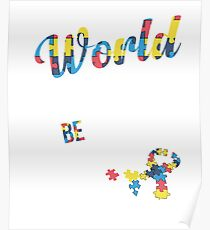 In a World Where You Can Be Anything Choose Kind  Poster