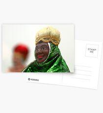Afrikanische weise Männer Postkarten