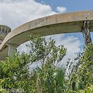 Observation Tower Walkway -  by John  Kapusta