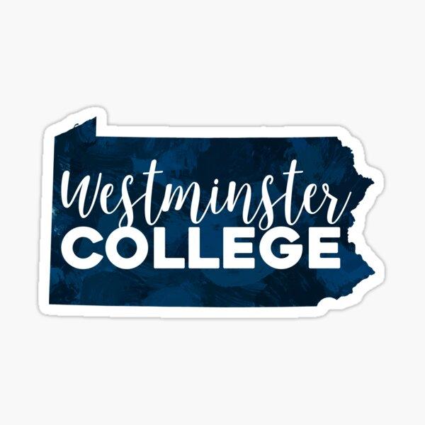 Westminster College Sticker