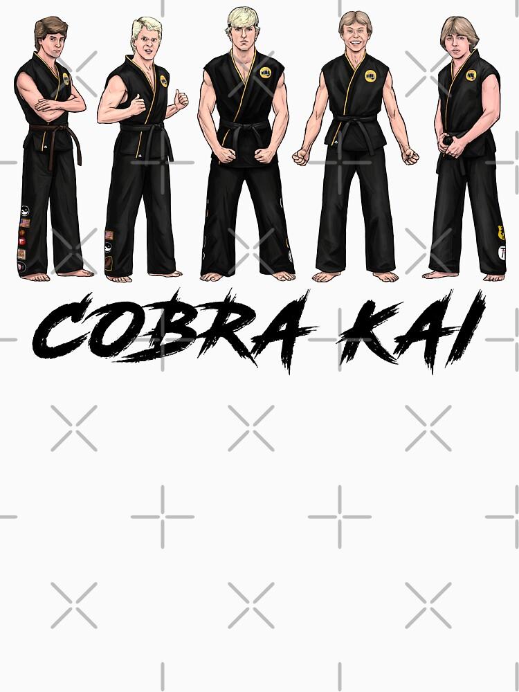 THE KARATE KID inspirierte Charaktere - COBRA KAI - 80s Thema (Johnny Lawrence, Bobby, Tommy, Holländer und Jimmy) von mgo5