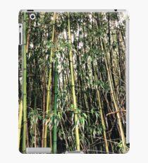 Tropical woody bamboos - Tree Pattern iPad Case/Skin