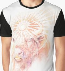 God of the Sacred Bison Graphic T-Shirt