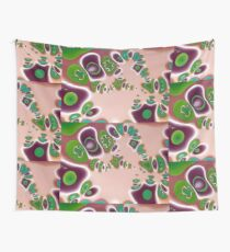 WATER LILLIES 5 Wall Tapestry