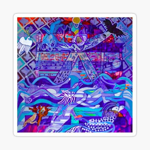 Hexagram 29: Kǎn (The Abyss) Sticker