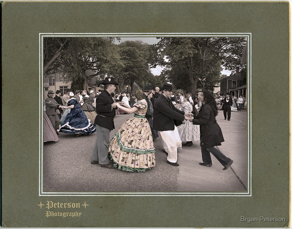 Merriment in the Streets by Bryan Peterson