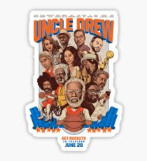 Uncle Drew  Sticker