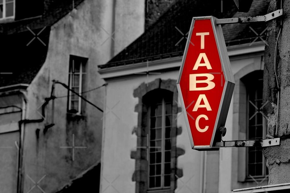 Tabac - French Tobacco Shop  by Buckwhite