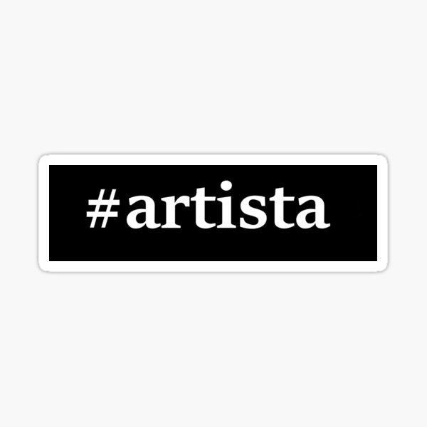 #artista Sticker