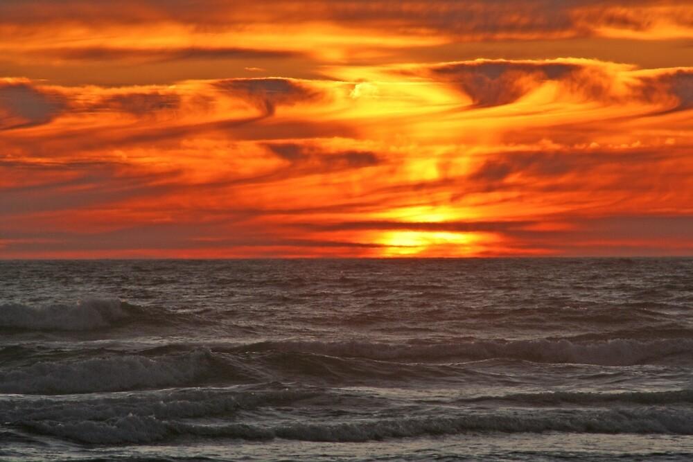 Amazing Sunset by Ran Richards